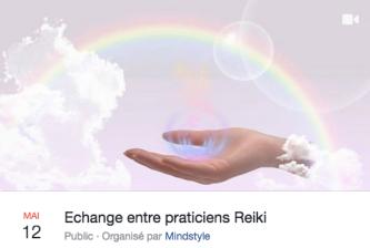 Echange praticien Reiki 12 mai